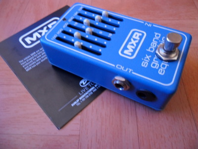 MXR Blue EQ Pedal Modded